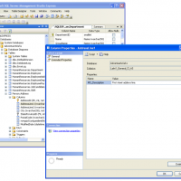 Figure 2. Adding a table column description via SQL Server 2008's SQL Server Management Studio